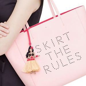 Kate Spade Skirt the Rules Hallie leather tote